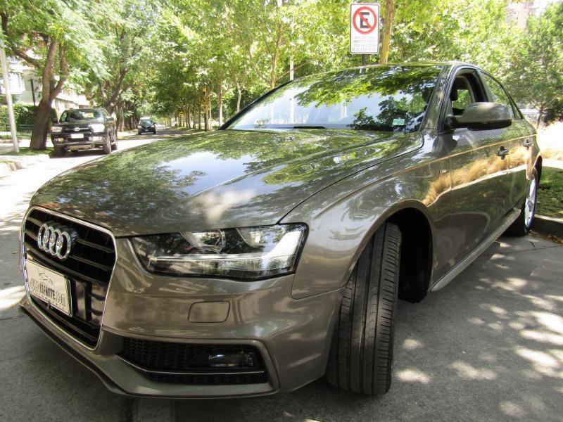AUDI A4 1.8 TFSI, S line, cuero, airbags 2014 1 dueño. mantenciones Audi. COMO NUEVO.  - FULL MOTOR