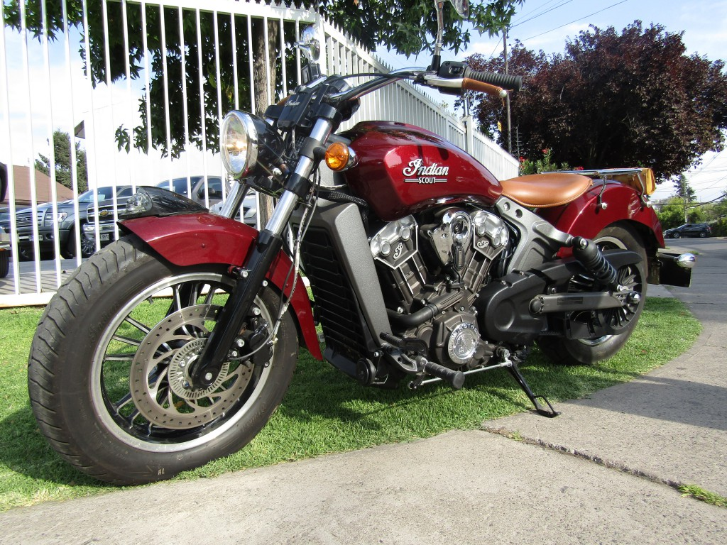 INDIAN SCOUT 1200CC  2017  - FULL MOTOR