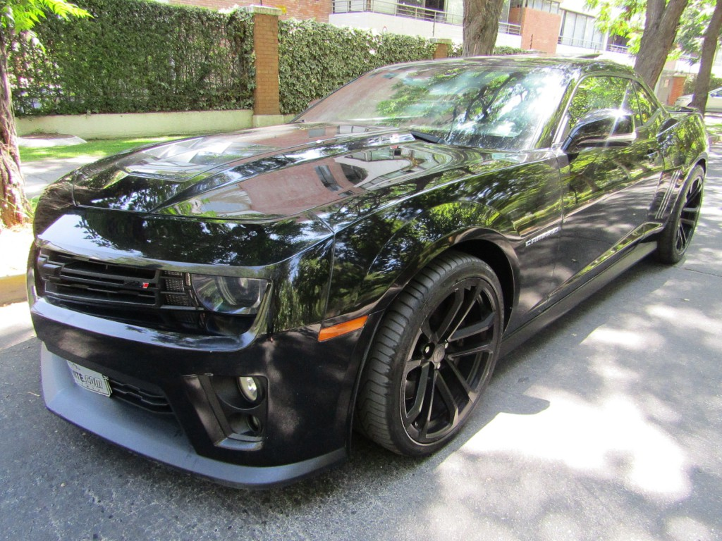 CHEVROLET CAMARO ZL1 6.2 Super charger 2013 Cuero, sunroof, llantas 20, paddle shift  - FULL MOTOR