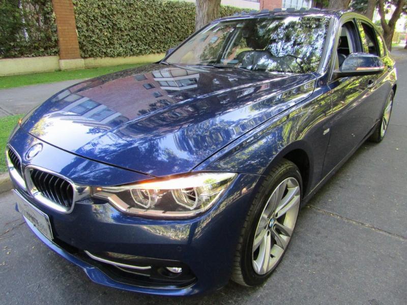 BMW 320D Diesel Limousine 2.0 cuero 2017 sunroof, mantencion gratis hasta los 60 mil km.  - JULIO INFANTE