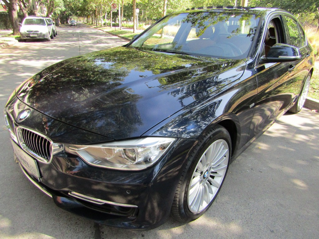 BMW 328 Luxury 2.0 cuero, Paddle shift 2013 sunroof, solo 63 mil km. IMPECABLE. MANTENCIONES.  - JULIO INFANTE