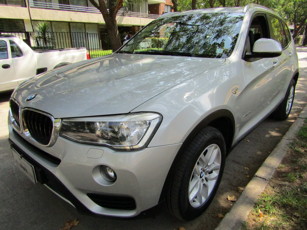 BMW X3 X3 S Drive, 2.0I, LCI  2016 Twin turbo 2.0 cc. Mantencion km. al dia. wbm.  - JULIO INFANTE