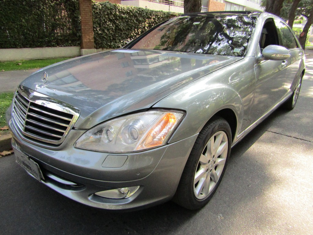 MERCEDES-BENZ S500 L 5.5 2007 Cuero, Doble sunroof.  - JULIO INFANTE