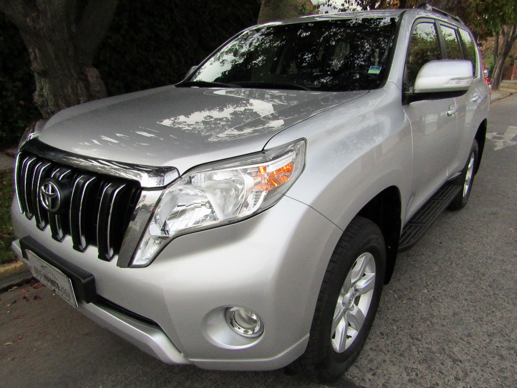 TOYOTA LAND CRUISER PRADO All New Land Cruiser 4.0 AUT 2017 Climatizador, 6 airbags, isofix, 1 dueña, mantenci - JULIO INFANTE