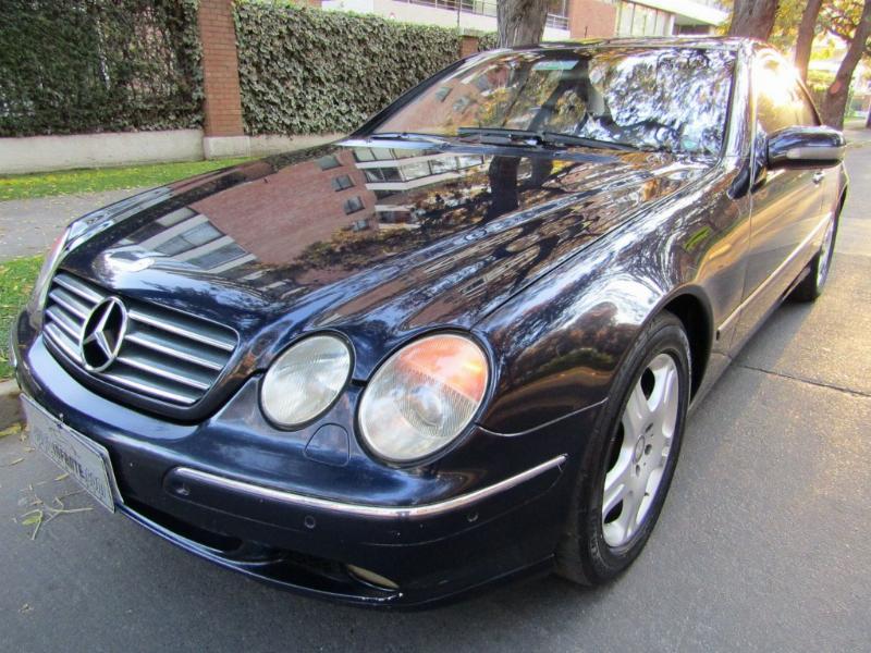 MERCEDES-BENZ CL500 CL 5.0 Aut. cuero, sunroof 2001 2 dueños. Impecable. Mantenciones Kaufmann  - JULIO INFANTE