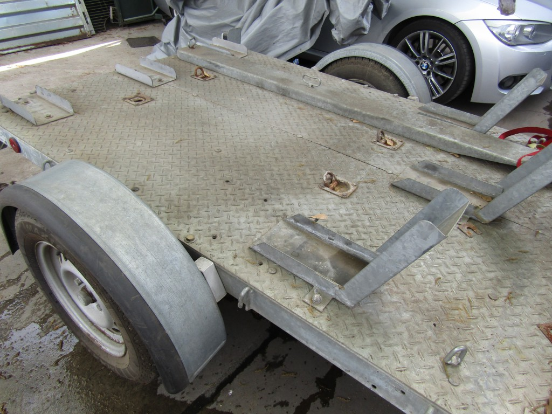 AEROVAN CARRO ARRASTRE Carro de arrastre + Honda 230 F 2007, 230 2008 y 1 2008 Carro multiuso Aerovan. Todo el paquete Junto - FULL MOTOR