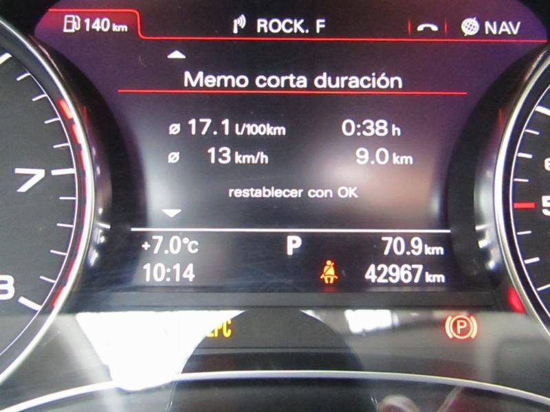 AUDI A6 3.0 TFSI Quattro S Tronic 2015 Cuero, Sunroof, como nuevo, 2 dueños.  - JULIO INFANTE