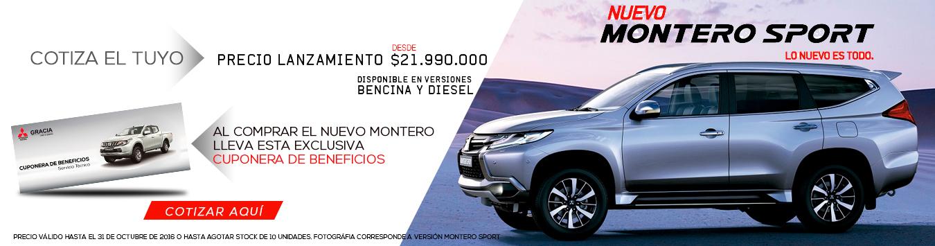 Mitsubishi Montero  - Octubre2