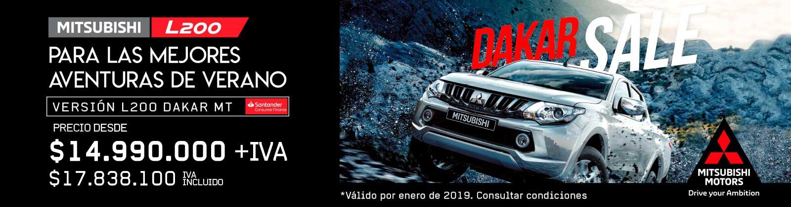 Gracia Autos - L200 Dakar - Enero 2019