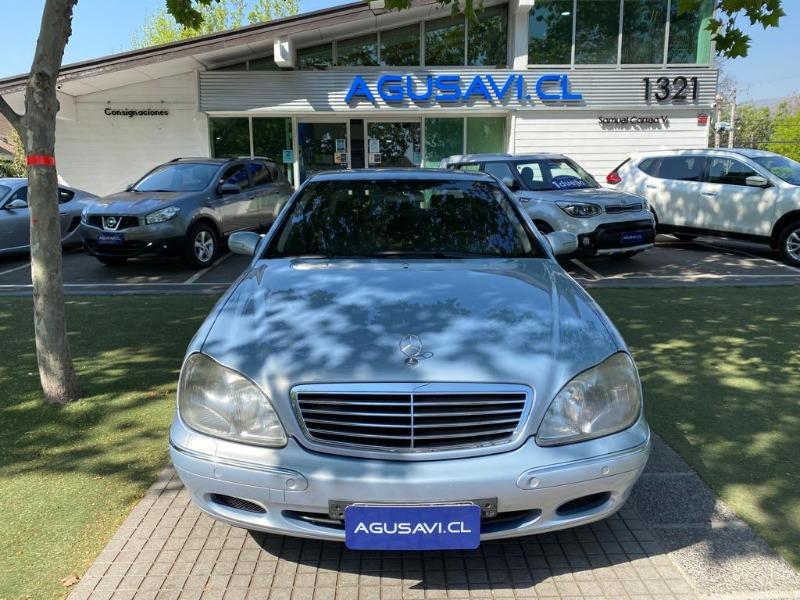 MERCEDES-BENZ S500 5.0 AUT 2003 TOP DE LINEA, POCO KILOMETRAJE -