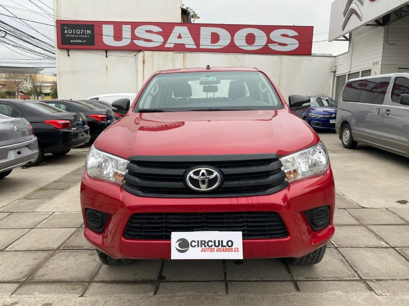 TOYOTA HILUX NEW HILUX 4x2 2.4 MT DX (WIDE) 2017 TRACCION 4X2 - CIRCULO