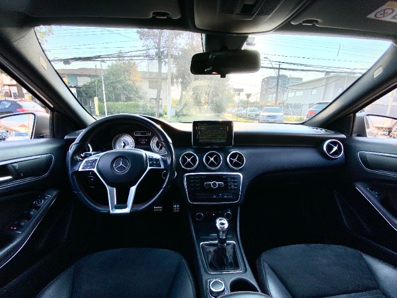MERCEDES-BENZ A200 1.6 TURBO 2014 SEIS CAMBIOS LOOK AMG - FULL MOTOR