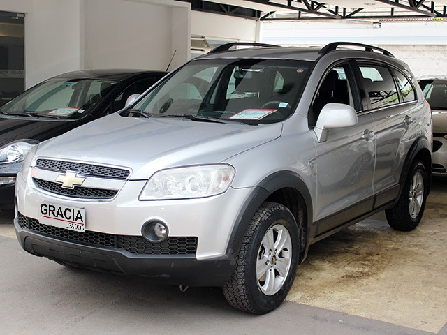 CHEVROLET CAPTIVA LS 2.4 MT 2009  - GRACIA AUTOS