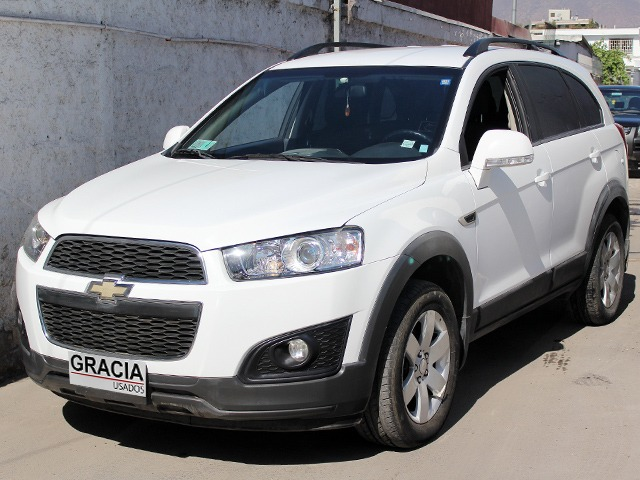 CHEVROLET CAPTIVA LS 2.2 DIESEL MT 2014  - GRACIA AUTOS