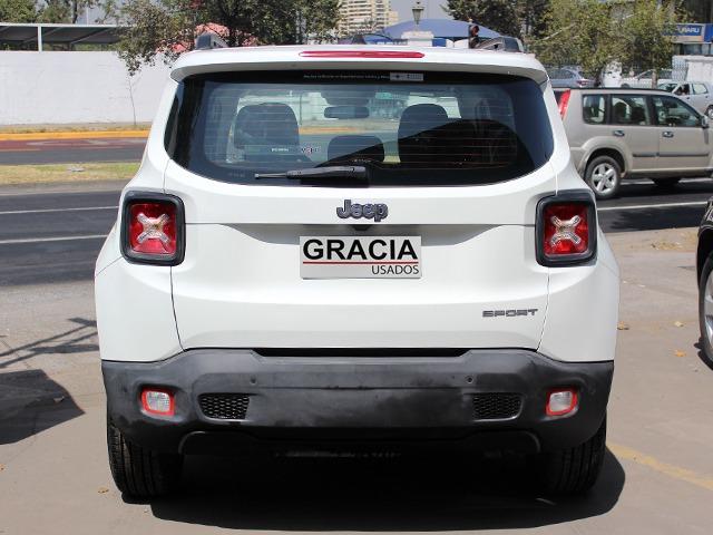 JEEP RENEGADE LX SPORT 1.7 MT 2017  - GRACIA AUTOS