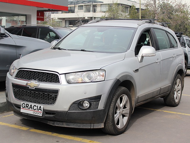 CHEVROLET CAPTIVA lll 2.4 AWD AT 2013 CUERO - GRACIA AUTOS