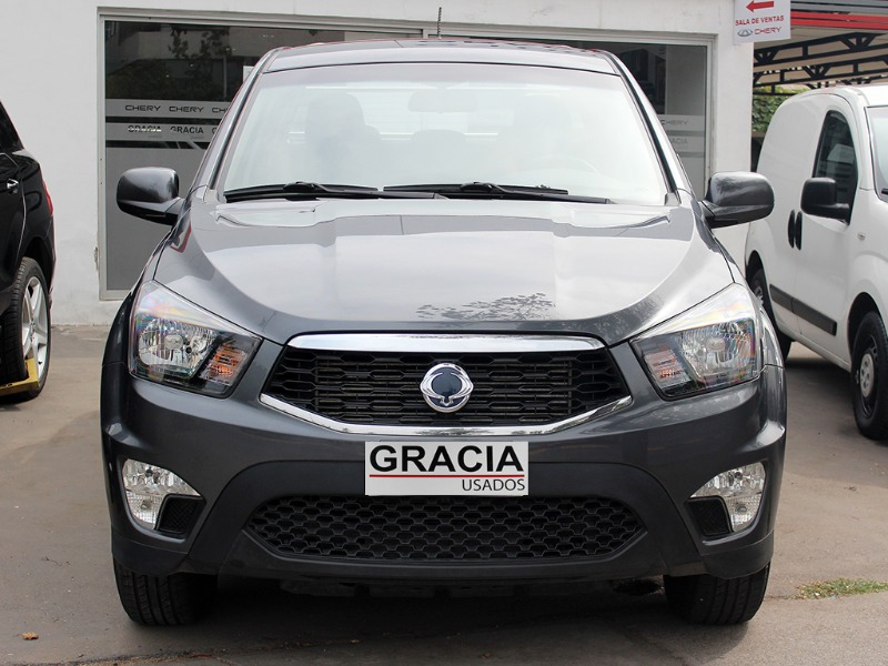 SSANGYONG ACTYON SPORT 4X2 DIESEL 2.0 AT 2019  - GRACIA AUTOS