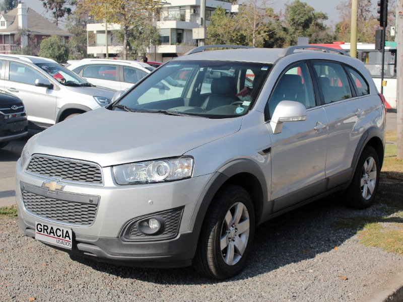 CHEVROLET CAPTIVA LT 2.4 AT 2016  - GRACIA AUTOS