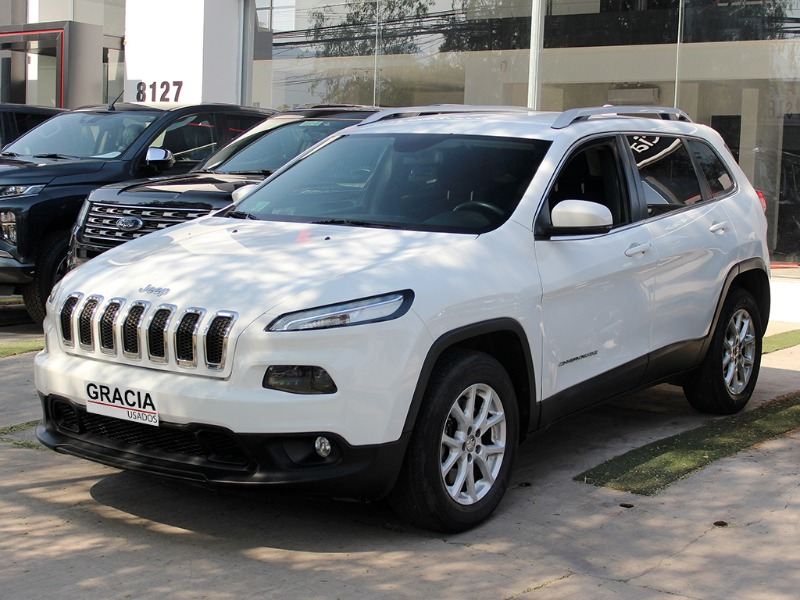 JEEP CHEROKEE LONGITUDE 4WD 2.4 AT 2016  - GRACIA AUTOS