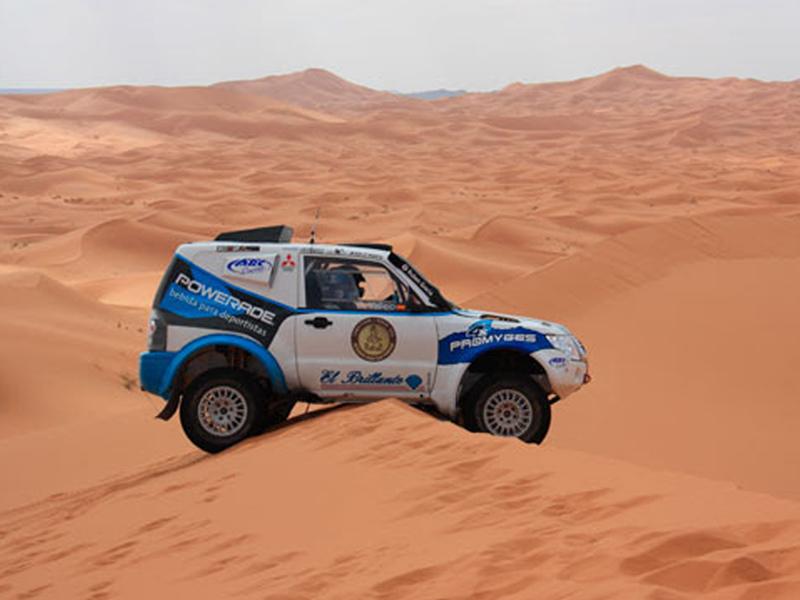 Dakar 2016: Rubén Gracia completa entrenamiento en Marruecos - Gracia Autos