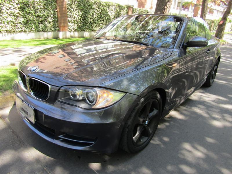 BMW 120I Cabriolet 2.0  Cuero 2008  -