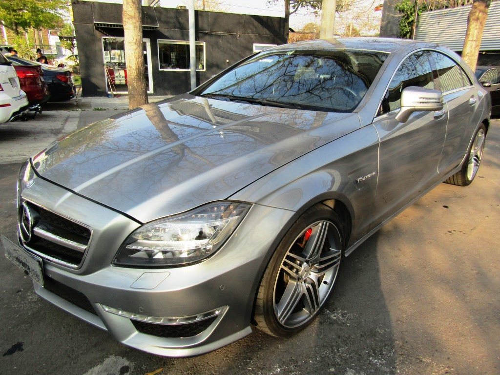 MERCEDES-BENZ CLS 63 AMG Cuero, sunroof, paddle shift 2013 V8 5.5 10 airbags abs, crucero.  -