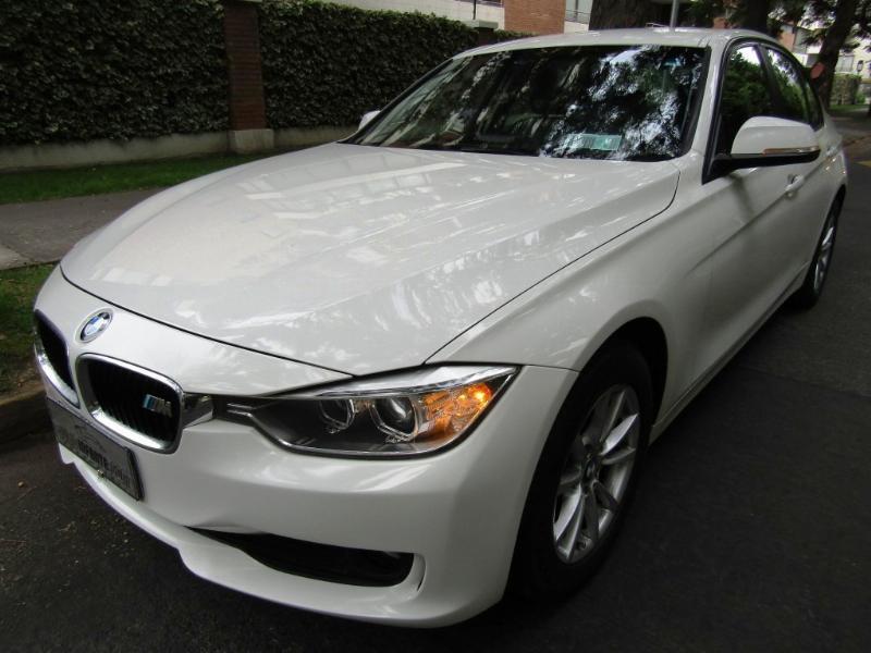 BMW 316I 1.6 Aut. Tipt. Cuero  2014 impecable. Mantencion la dia.  - FULL MOTOR