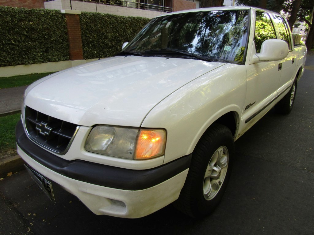 CHEVROLET S10 Apache 2.4 Aire, D/c 2001 Impecable. Dueño adulto mayor  - FULL MOTOR
