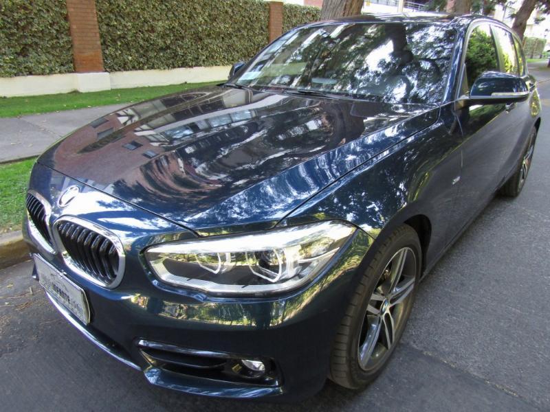 BMW 120I 2.0 Steptronic, cuero 2017 Mantencion gratis hasta 60 mil km. Garantía - FULL MOTOR