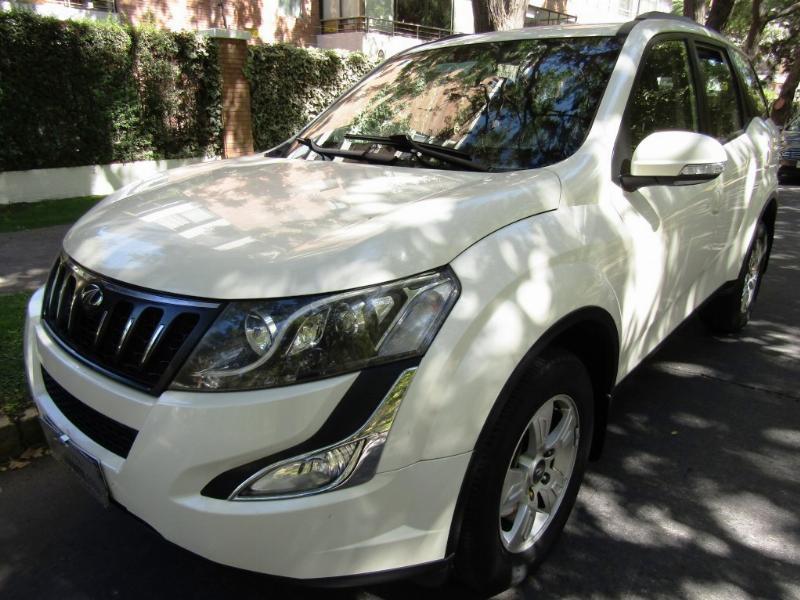 MAHINDRA XUV 2.2 Diesel 3 corridas 2017 Mec. 1 dueño. permiso transporte decreto 80 - FULL MOTOR