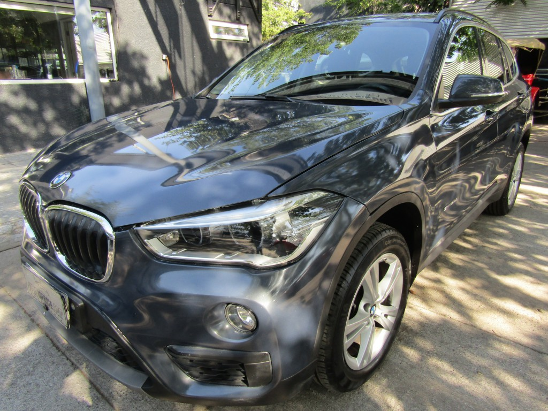 BMW X1 SDRIVE 18D 2.0 AUT 2017 Diesel, cuero, 45 mil km. 2 dueños.  -