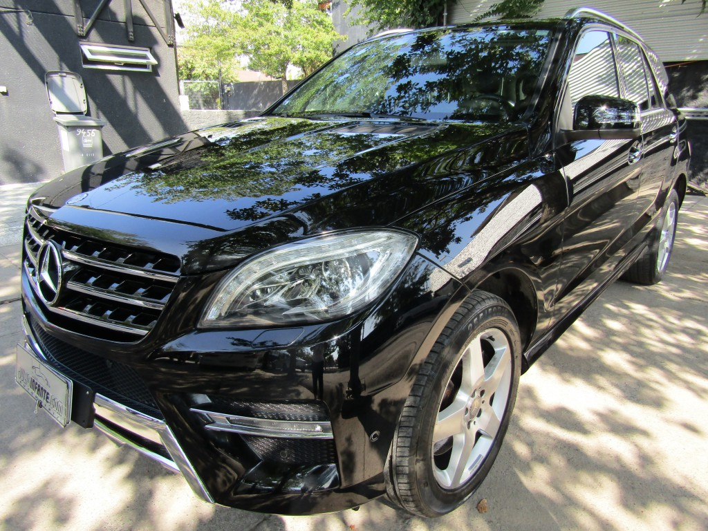 MERCEDES-BENZ ML 350 CDI 4 motion 4x4  2013 cuero, sunroof, Kit Amg. Mantencion al dia.  -