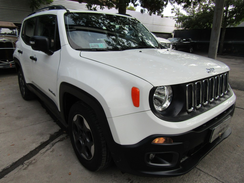 JEEP RENEGADE  Sport LX 1.7 2017 Aut. paddle shift. COMO NUEVO.  - FULL MOTOR