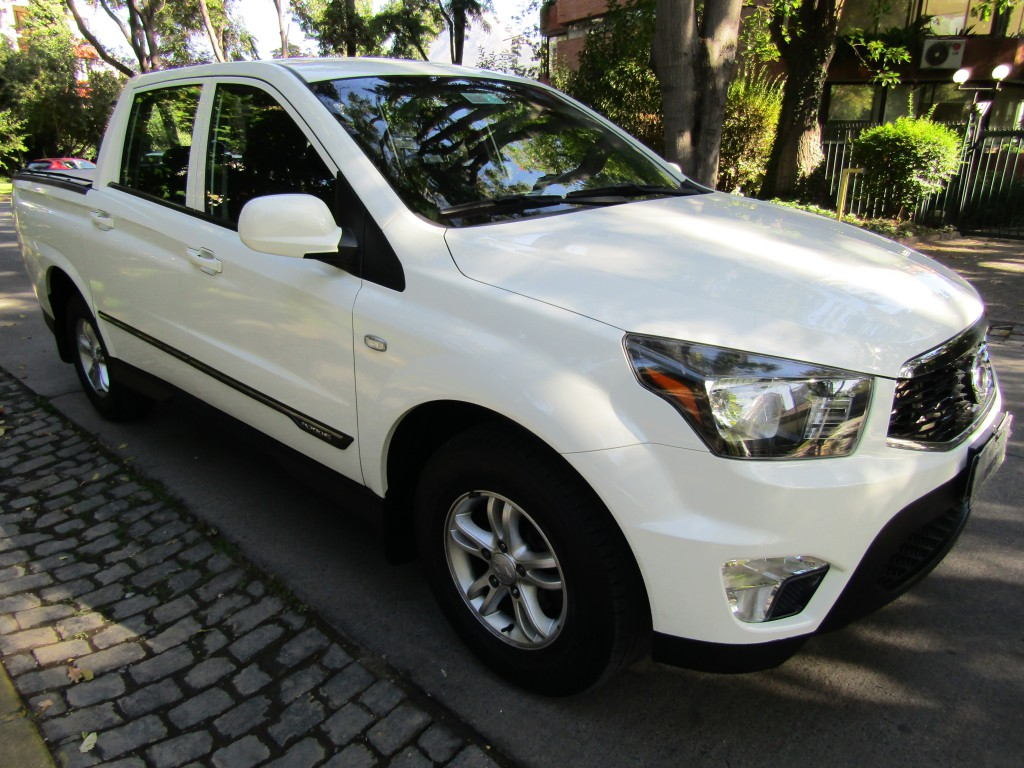 SSANGYONG ACTYON SPORT 4x2  DIESEL 2.0 FULL  2018 612, crucero, airbags, como nueva 49 mil km.  - FULL MOTOR