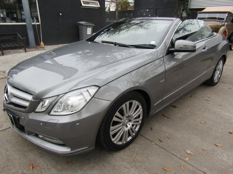 MERCEDES-BENZ E350 Cabriolet 4 asientos  2012 GGI Elegance, cuero, techo eléctrico.  -