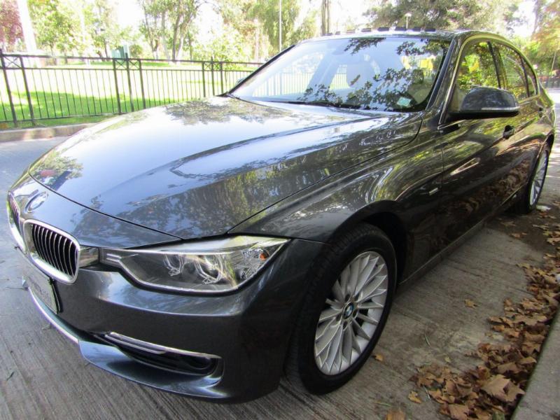BMW 316I Luxury 1.6 Aut Cuero Sunroof 2015 Mantenciónes solo W.B.M 1 dueño - FULL MOTOR