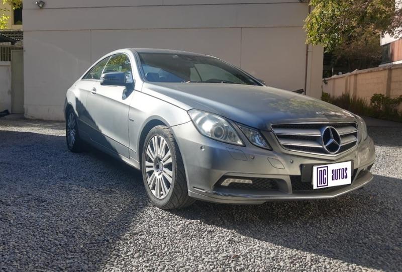 MERCEDES-BENZ E250 1.8 Coupe Elegance 2011 A toda pruba -