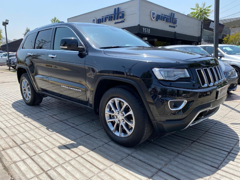 JEEP NEW GRAND CHEROKEE LX 4X4 3.6 AUT  2014 EXCELENTE ESTADO. MANTENCIONES AL DIA - FULL MOTOR