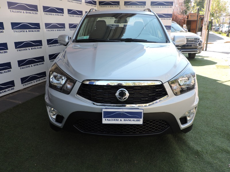 SSANGYONG ACTYON SPORT 2.0 2017 AUTOMATICO - DIESEL - TECHO -